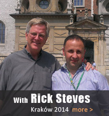 with Rick Steves