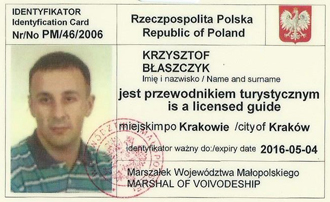 tour guide license