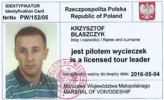 tour leader license
